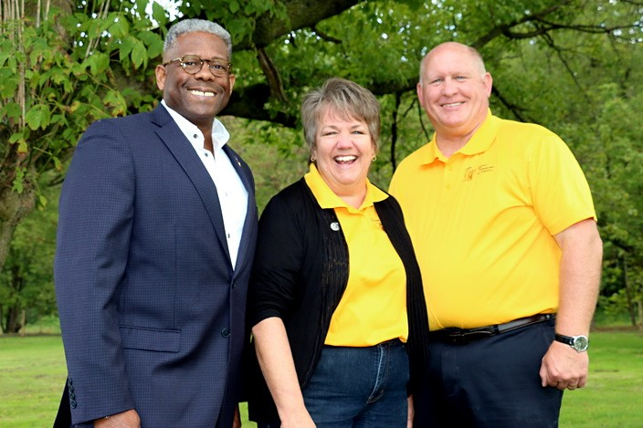 LTC Allen West, Penny Thompson, and Congressman Glenn 'GT' Thompson